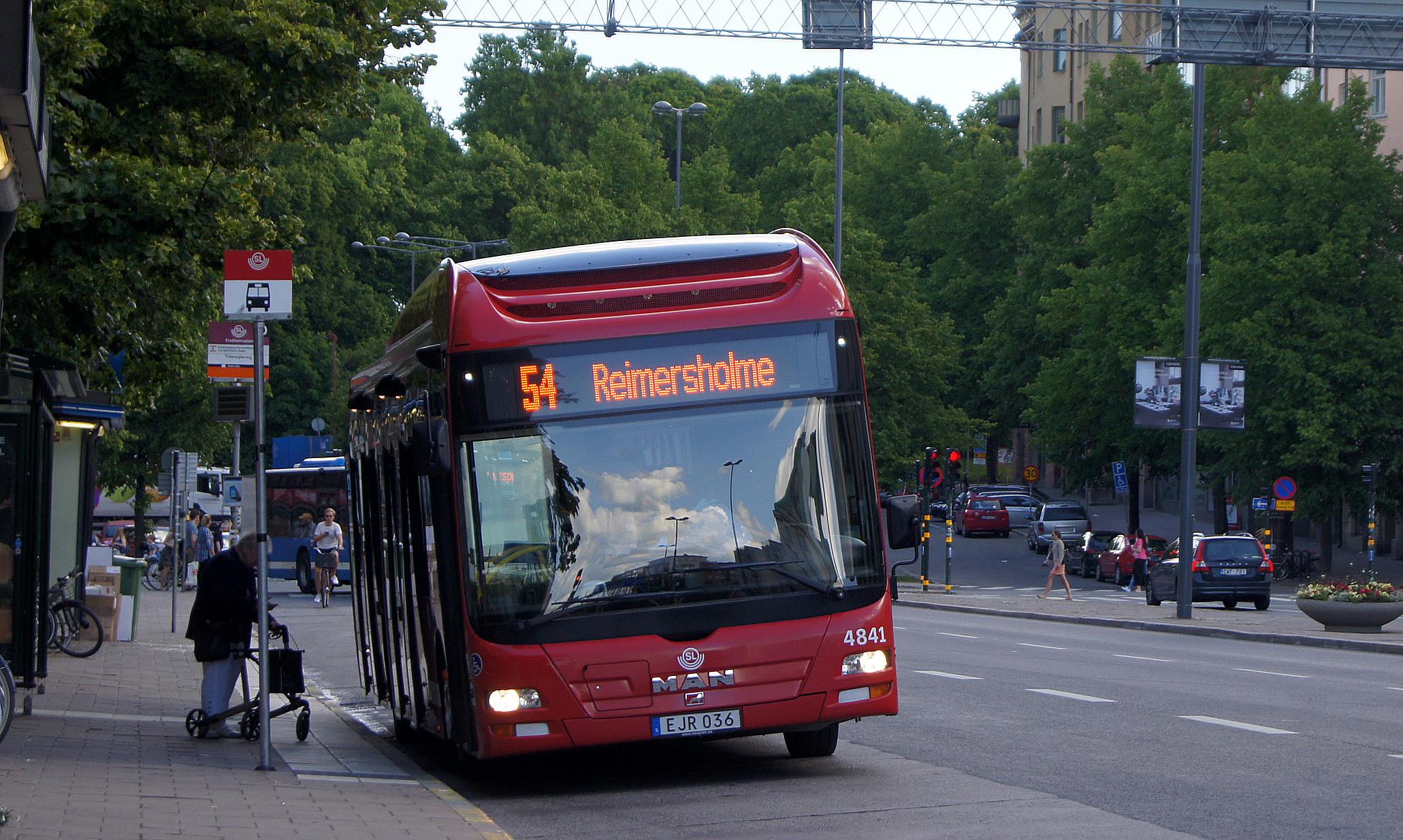 sl buss linje 1