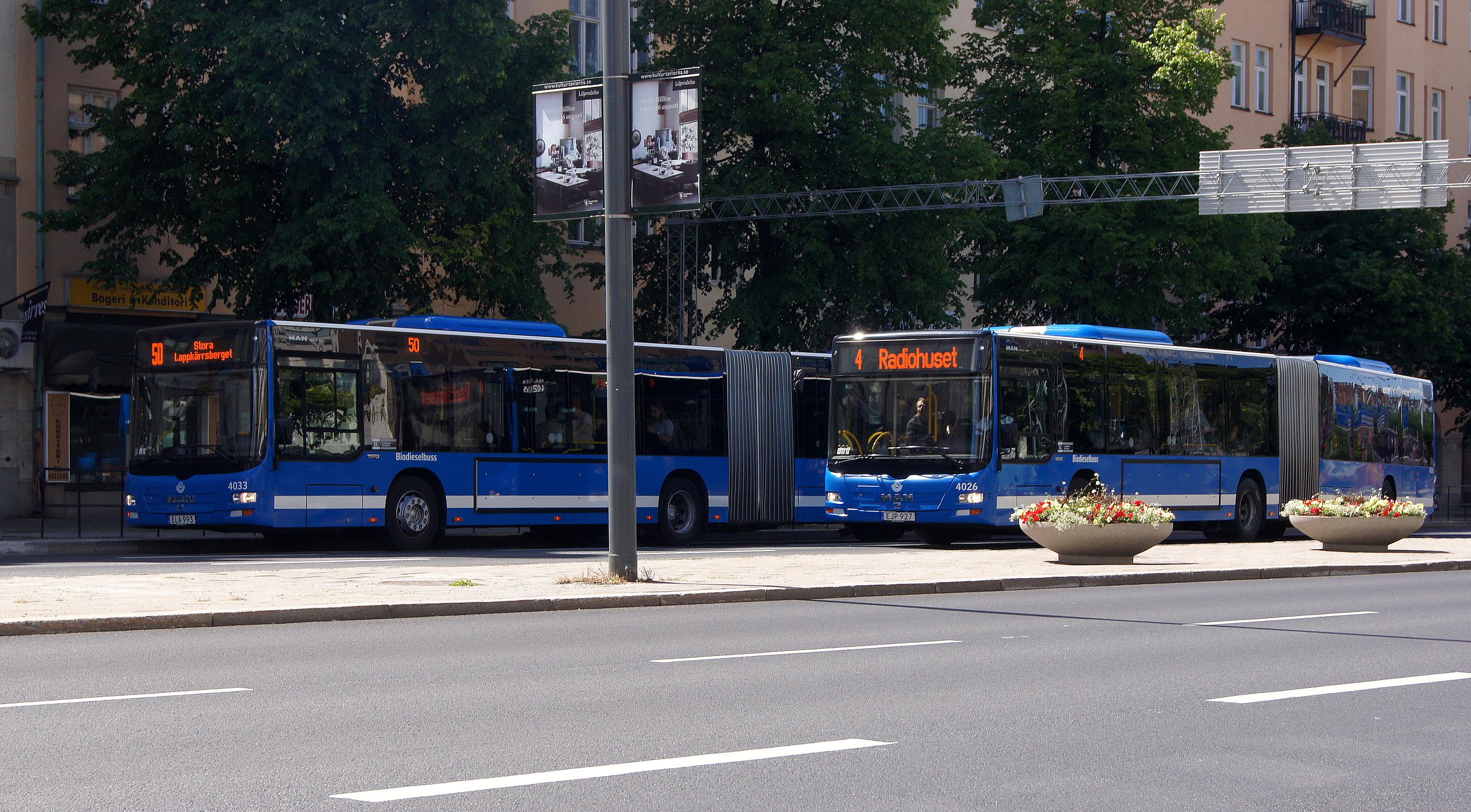 Linje 50 - Buss - SL iFokus